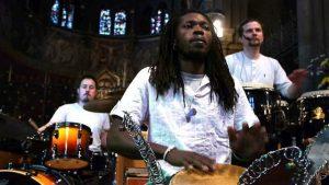 ecstatic dance temple drummers