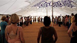 Tantric Trance Dance Standing Circle