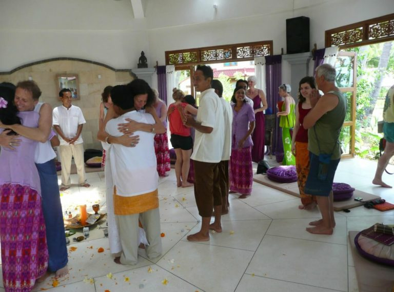 Ecstatic Dance Temple Training Bali